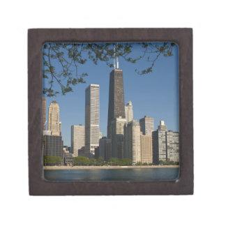Chicago skyline and Lake Michigan, Lake Shore Premium Gift Box