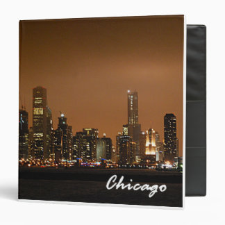 Chicago Skyline At Navy Pier Keepsake Binder