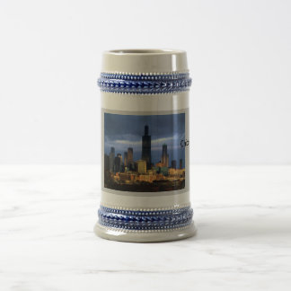 Chicago Skyline Beer Stein