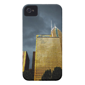 Chicago Skyline Before A Storm Case-Mate iPhone 4 Cases