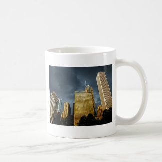 Chicago Skyline Before A Storm Coffee Mug