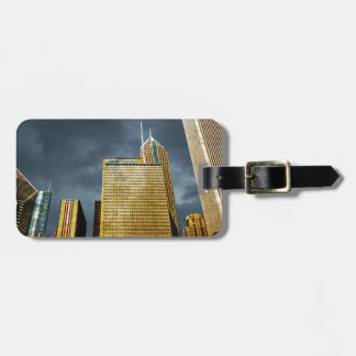 Chicago Skyline Before A Storm Luggage Tag