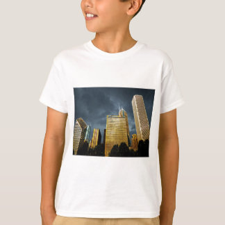 Chicago Skyline Before A Storm T-Shirt