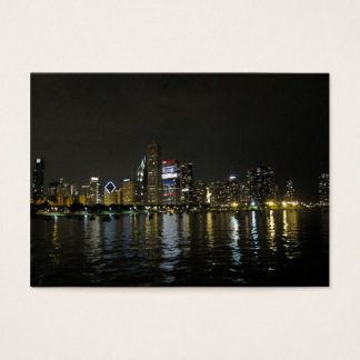 Chicago skyline business card