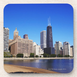 Chicago Skyline. Coaster