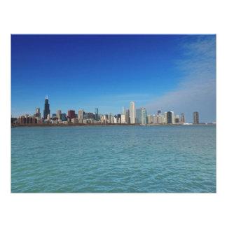 Chicago Skyline Customized Letterhead