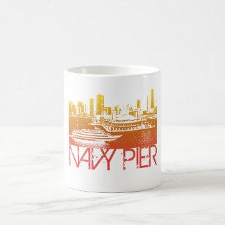 Chicago Skyline Design Classic White Coffee Mug