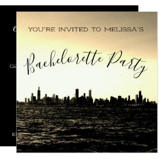 Chicago Skyline Party Invitation