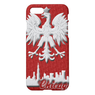 Chicago Skyline Polish Eagle iPhone 7 Case