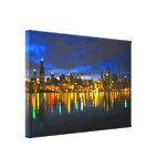 Chicago Skyline Stretched Canvas Prints