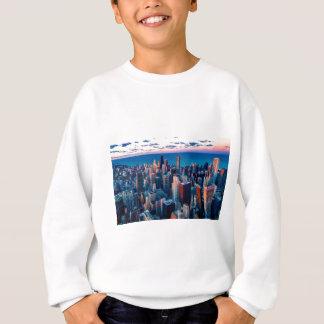 Chicago Skyline Sundown Sweatshirt