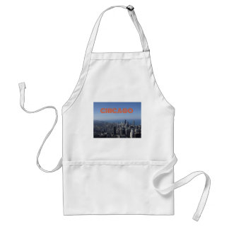Chicago skyline T Standard Apron