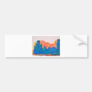 Chicago Spin Bumper Sticker