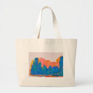 Chicago Spin Large Tote Bag