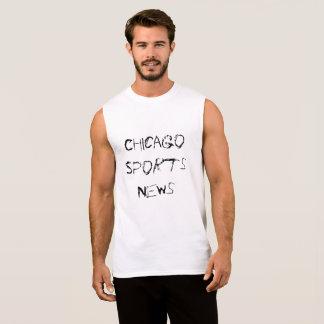 Chicago Sports News Sleeveless Shirt
