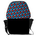 Chicago Star Pattern Messenger Bag
