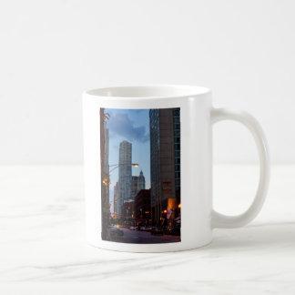 Chicago Street Scene Coffee Mug