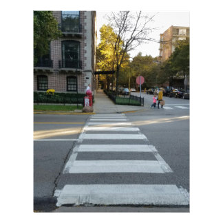 Chicago Street Zebra Crossing Letterhead