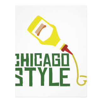 Chicago Style Letterhead Design