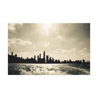 Chicago Summer Skyline Canvas Print