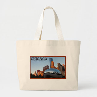 "Chicago - ""The Bean"" Canvas Bags"