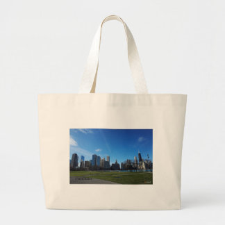 Chicago -The Lake Michigan Tote Bags