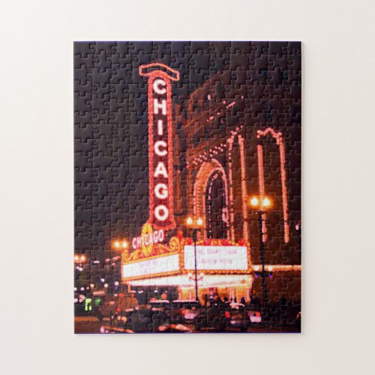 CHICAGO THEATER PUZZLE