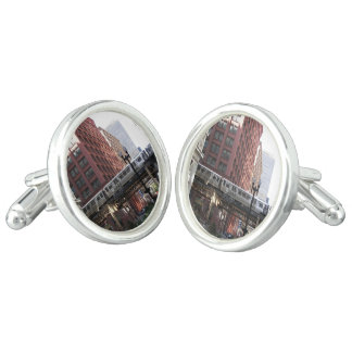 Chicago Travel Photo Cufflinks