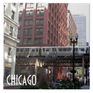 Chicago Travel Photo Tile