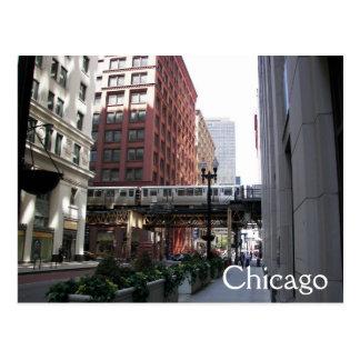 Chicago Travel Postcard