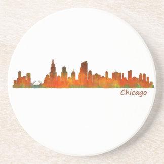 Chicago U.S. Skyline cityscape Coaster