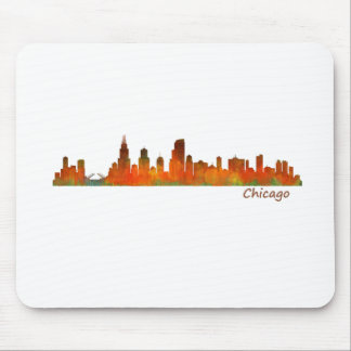 Chicago U.S. Skyline cityscape Mouse Pad
