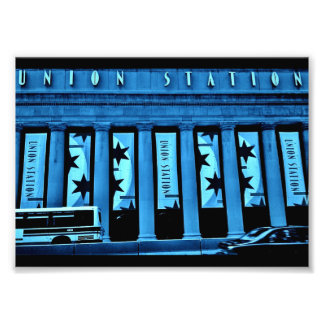 Chicago Union Station Photo Print