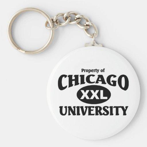 Chicago University Keychains