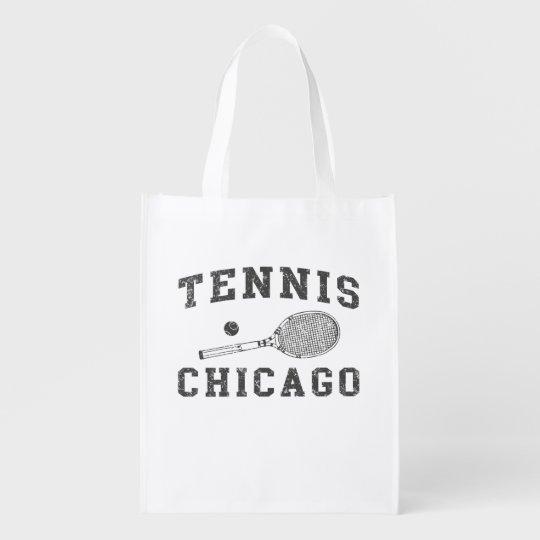 Chicago Vintage Tennis Market Tote