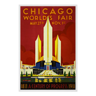 Chicago - Vintage Travel Posters