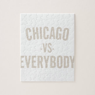 Chicago Vs Everybody Jigsaw Puzzle
