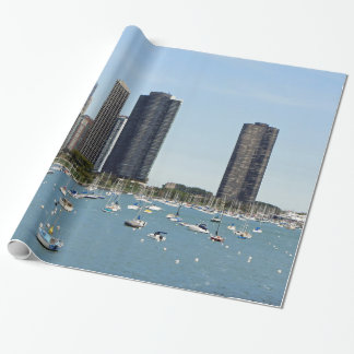 Chicago Waterfront Wrapping Paper