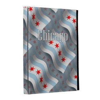 Chicago Waving Flag iPad Folio Covers