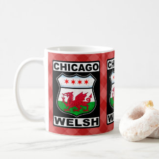 Chicago Welsh American Mug