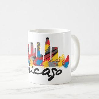 Chicago White Mug