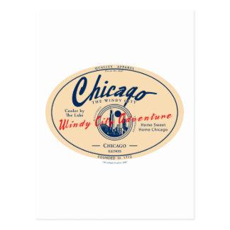 Chicago Windy City Postcard
