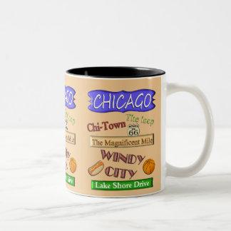 Chicago Windy City -Souvenir Mug