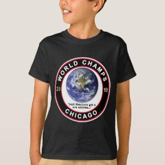Chicago World Champs 2010 - Hockey Fans T-Shirt