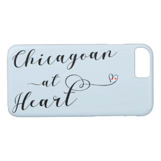 Chicagoan At Heart Mobile Phone Case