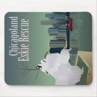 Chicagoland Eskie Rescue Mouse Pad