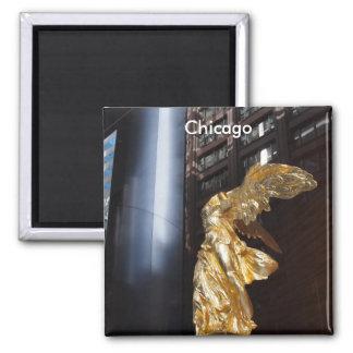 Chicago's Angel Square Magnet