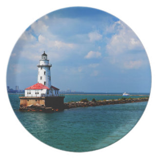 Chicago's Lighthouse Party Plate