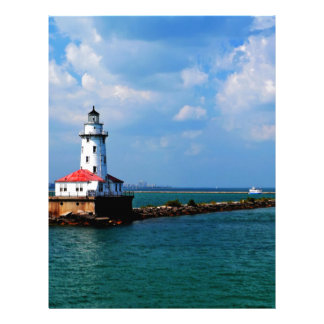 Chicago's Lighthouse Personalized Letterhead