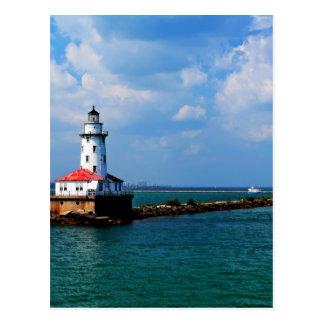 Chicago's Lighthouse Postcard